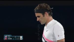 Marin Čilić Vs Roger Federer - 3° set