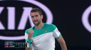 Marin Čilić Vs Roger Federer - 4° set